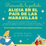 Reinventa la portada de Alicia en el País de las Maravillas