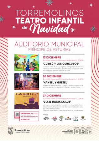Ciclo de Teatro Infantil Especial Navidad - Cubisú y los Cubicubos