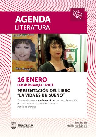 Presentación libro 'La vida es un sueño' de María Manrique y Poemas Asociación Cultural El Calvario