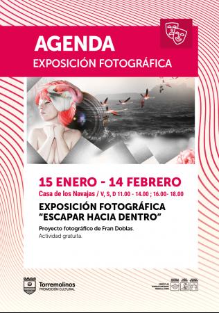Exposición de fotografía de Fran Doblas - Escapar hacia adentro