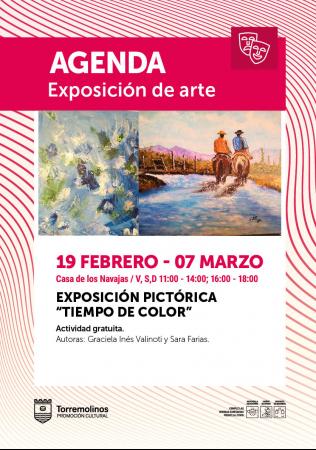 Exposición Pictórica - Tiempo de color