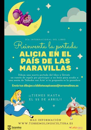 Crea la portada de 'Alicia en el País de las Maravillas' - Último día para participar