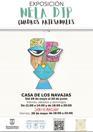 Exposición de cuadros artesanales - Nela Dip