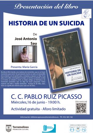 PRESENTACIÓN DEL LIBRO - HISTORIA DE UN SUICIDA DE JOSÉ ANTONIO SAU