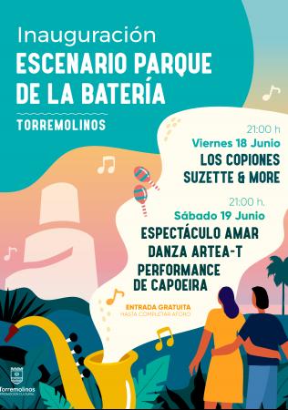 Espectáculo Amar, Danza Artea-T y Performance de Capoeira