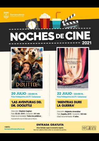 NOCHES DE CINE - LAS AVENTURAS DEL DR. DOOLITTLE