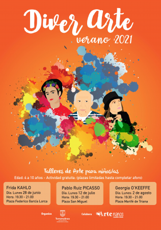 DIVER ARTE - Taller sobre Pablo Ruiz Picasso
