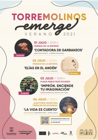 "Torremolinos Emerge - Actuación de Danza ""Contadora de Garbanzos"""