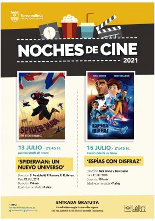 NOCHES DE CINE - ESPÍAS CON DISFRAZ