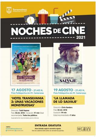 NOCHES DE CINE - HOTEL TRANSILVANIA 3