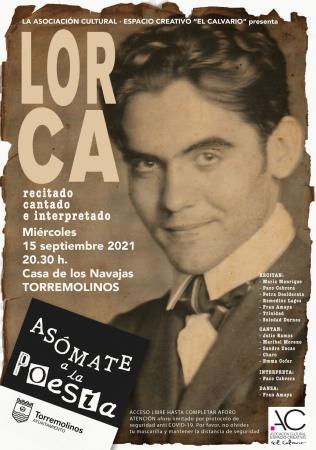 POEMAS CANTADOS ASOCIACIÓN CULTURAL EL CALVARIO - LORCA