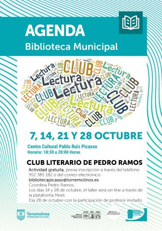 Club Literario de Pedro Ramos con profesor invitado