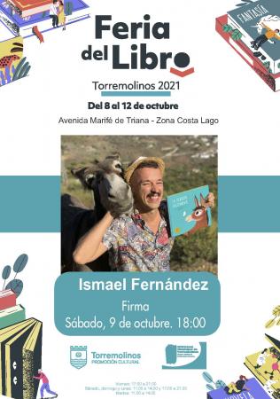 Firma de libros con Ismael Fernández - La burrita Baldomera