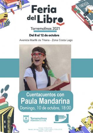 Cuentacuentos con Paula Mandarina