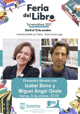 Encuentro literario con Isabel Bono y Miguel Ángel Oeste