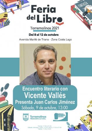 Encuentro literario con Vicente Vallés