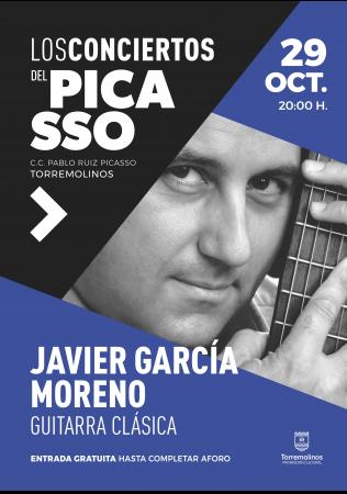 Concierto de Guitarra Clásica de Javier García Moreno