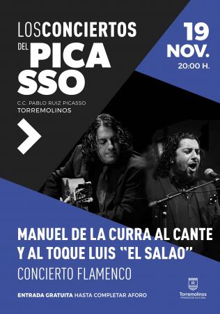 Concierto Flamenco con Manuel de la Curra y Luis el Salao