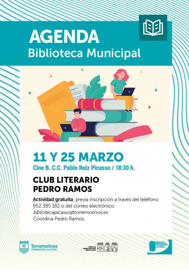 CLUB LITERARIO PEDRO RAMOS - MARZO