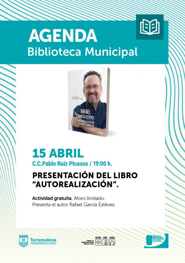 """PRESENTACIÓN del LIBRO  """"AUTORREALIZACIÓN"""" DE RAFAEL GARCÍA ESTÉVEZ"""