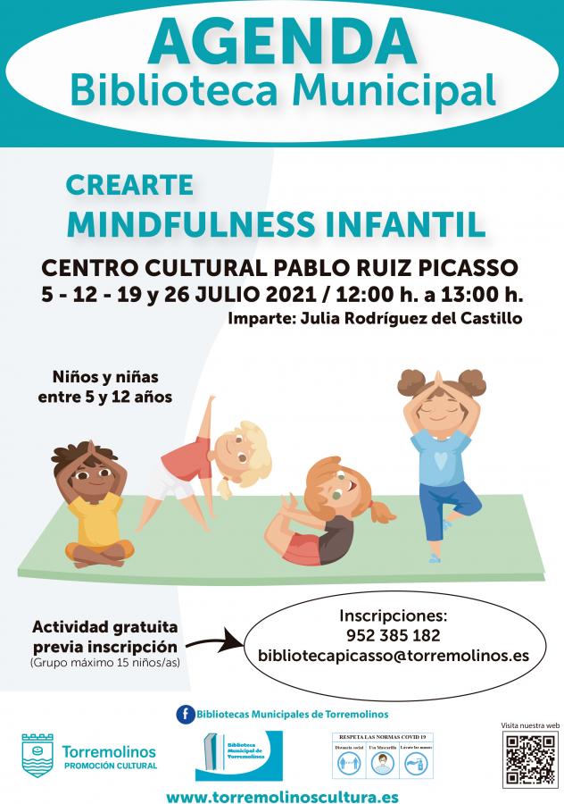 CREARTE MINDFULNESS INFANTIL CON JULIA RODRÍGUEZ