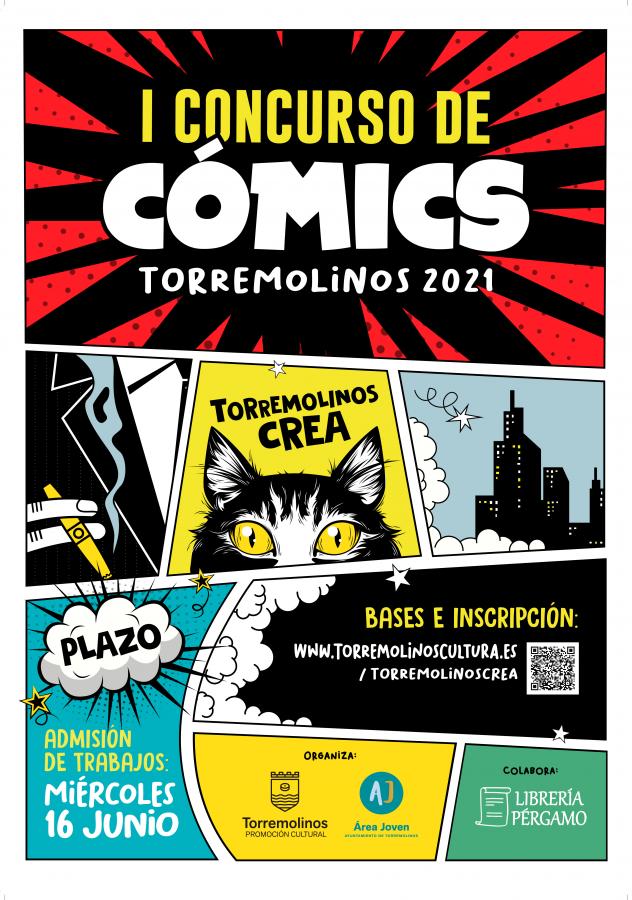 CONCURSO DE CÓMICS - TORREMOLINOS CREA