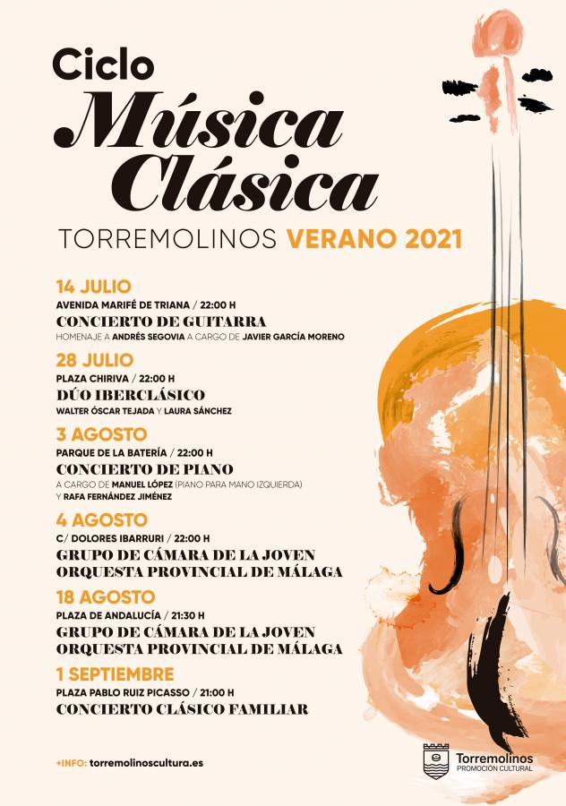 CICLO MÚSICA CLÁSICA - CONCIERTO DE GUITARRA