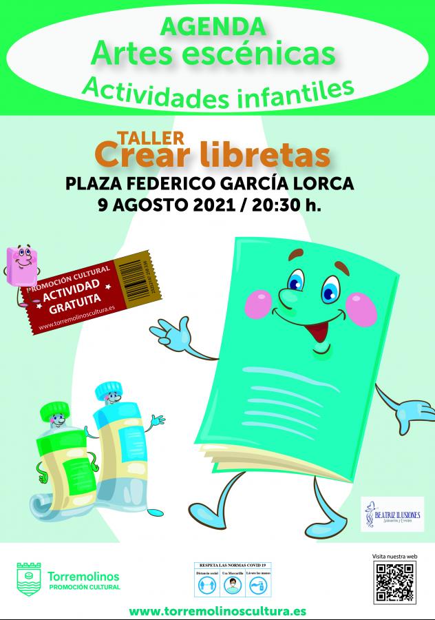 TALLER DE LIBRETAS con BEATRIZ ILUSIONES