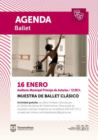 Muestra de Ballet Clásico del Centro de Danza de Torremolinos