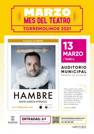 Hambre - Marzo el mes del teatro