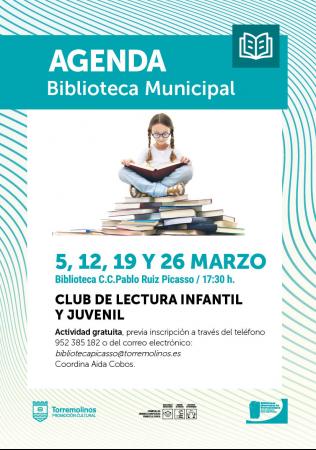 Club Literario Infantil Aida Cobos en marzo