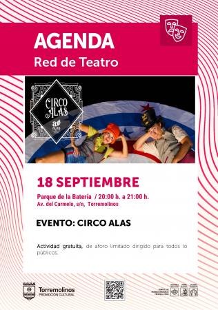 Espéctaculo del Circo Alas