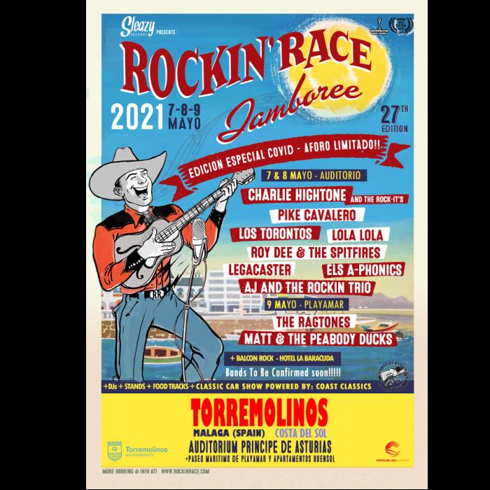 Aplazado el Rockin' Race hasta mayo