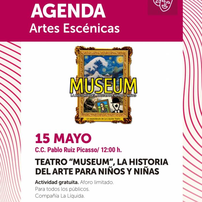 Torremolinos acerca la Historia del Arte a los niños y niñas a través del espectáculo Museum