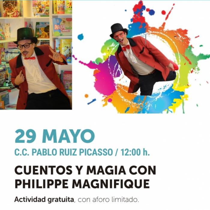 Cuentos y magia para toda la familia en el Centro Cultural Pablo Ruiz Picasso