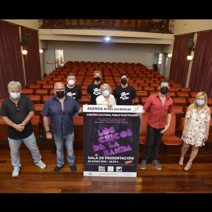 Torremolinos acoge una nueva adaptación teatral de la obra 'Los Chicos de la Banda'