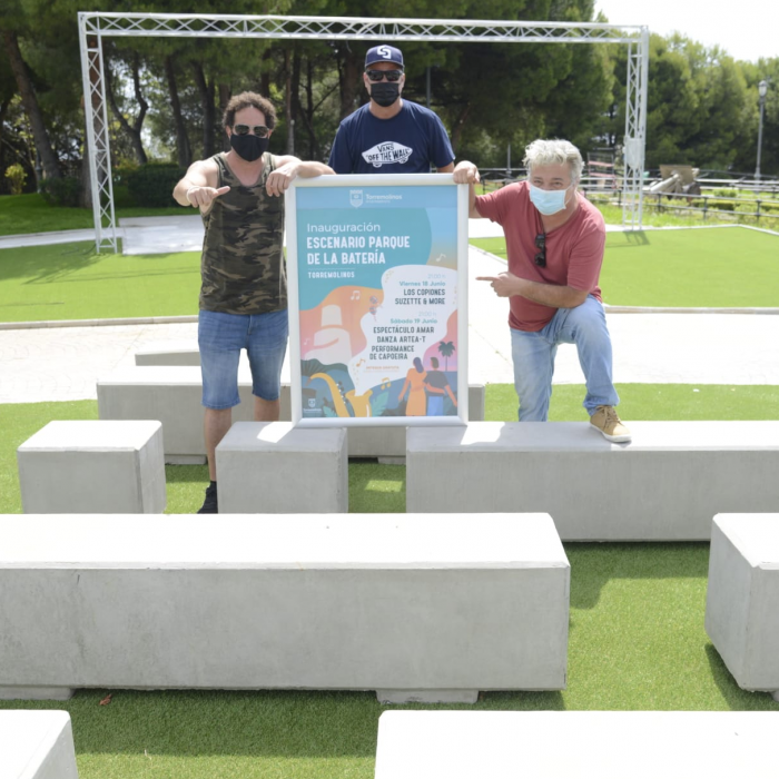 Torremolinos leads the activities cultural activities to the Battery Park with the construction of a permanent stage
