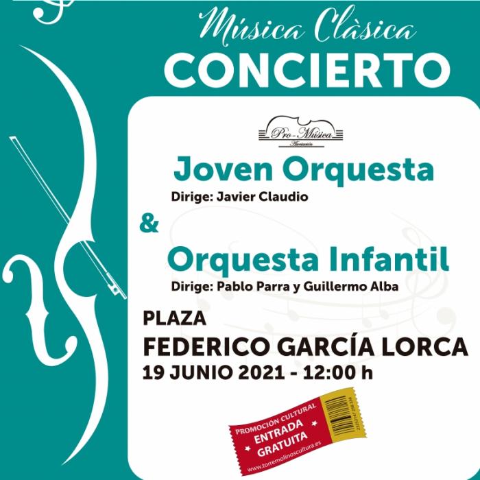 La Joven Orquesta Promúsica de Málaga ofrece un 'Concierto por la Paz' este sábado en Torremolinos