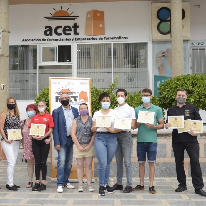 The Café Restaurante Ávila receives the first prize of the Ruta de la Tapa de la Abuela de Torremolinos