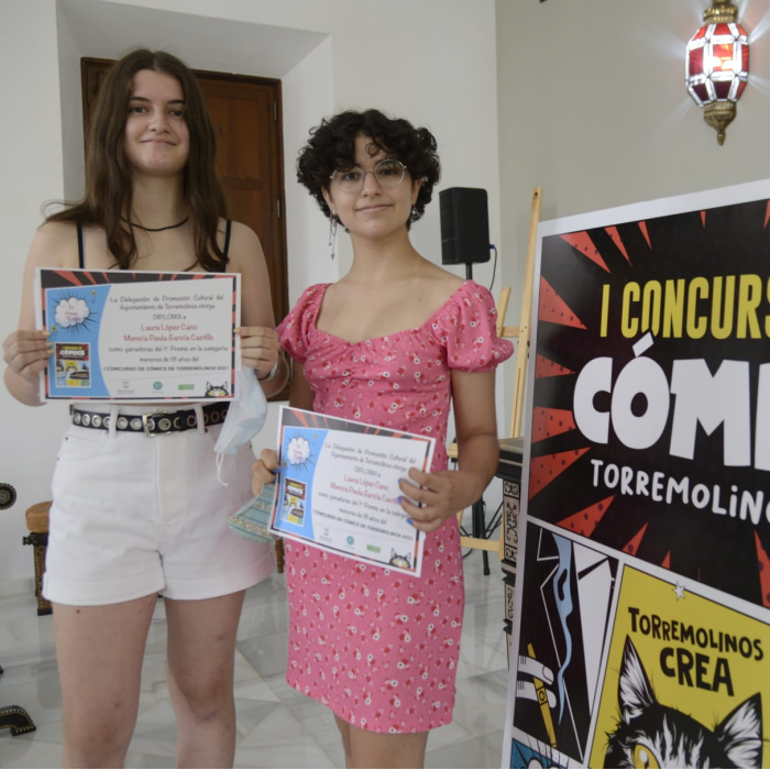 The Torremolinos Culture area awards the prizes of the I Comic Contest