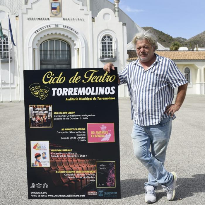 El ciclo de teatro de otoño de Torremolinos programa cuatro espectáculos hasta final de año