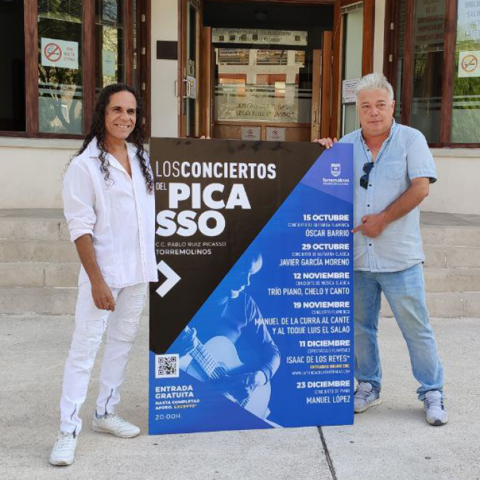 Música clásica y flamenco protagonizarán 'Los conciertos del Picasso' en Torremolinos