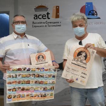 El Ayuntamiento de Torremolinos y ACET presentan la Ruta de la Tapa de la Abuela en la que participan 55 establecimientos