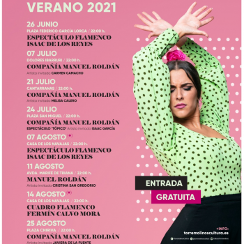 El espectáculo flamenco de Isaac de Los Reyes abre un nuevo ciclo musical de Torremolinos
