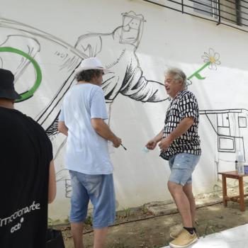 Un mural de Idígoras homenajeará a los sanitarios en Torremolinos