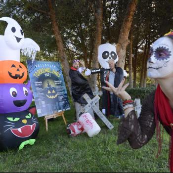 Torremolinos celebra Halloween con una gymkhana y un pasaje del terror en el Parque de la Batería